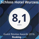 Guest Review Award 2016 – Booking.com